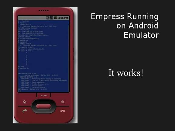 Empress On Android